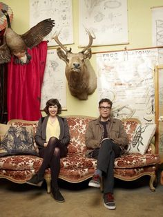 Carrie Brownstein and Fred Armisen in Portlandia, on IFC. Quietly Hilarious