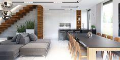 Projekt domu HomeKONCEPT 30 - aranżacja wnętrza www.homekoncept.pl #projektdomu