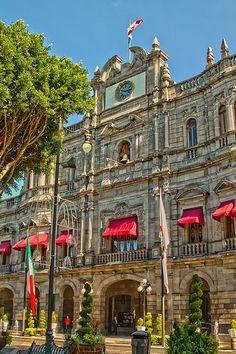 Puebla's City Hall. Mexico