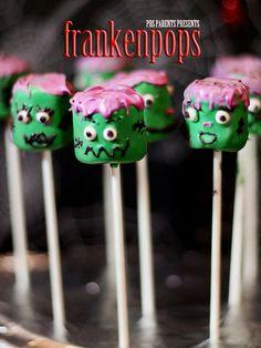 frankenstein-marshmallow-pops
