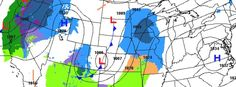 Heavy snowfall, blizzard to affect the West and northern Plains for Christmas