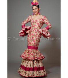Maestranza estampado flores - trajes de flamenca 2016 mujer - Aires de Feria