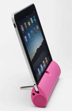 Zooka portable speaker bar for iPad, iPhone, or your laptop is amazing!