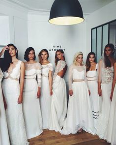 sneakers and pearls, white gowns, which one to choose, trending now
