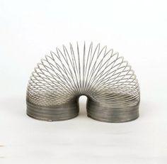 Vintage Fun Toy Original Slinky Metal Spring Stairs by ByHeart, $8.90