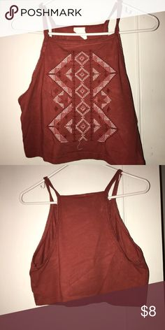Worn once - crop top , good conditions !! Good condition, very nice material, goes great with everything Aeropostale Tops Crop Tops