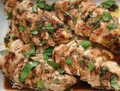 Kall marinerad kycklingfilé