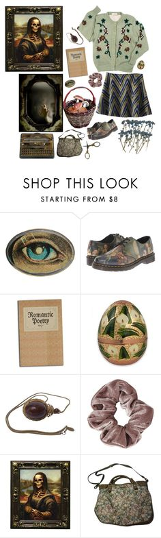 """""""Untitled #1792"""" by momoheart ❤ liked on Polyvore featuring John Derian, Dr. Martens, NOVICA, Miriam Haskell, Topshop, Paul & Joe, women's clothing, women's fashion, women and female"""