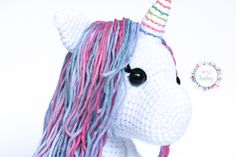 unicorn plush toy, stuffed unicorn, white unicorn, gift for girls, baby gift, birthday gift, fantasy nursery decor, toy for girl, unicorn, Toys For Girls, Gifts For Girls, Stuffed Unicorn, Crochet Baby Toys, White Unicorn, Nursery Decor, Baby Gifts, Birthday Gifts, Plush