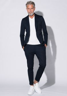 Casual Blazer, Casual Outfits, Men Casual, Fashion Outfits, Stylish Mens Fashion, Men Street, Classic Man, Dapper, What To Wear