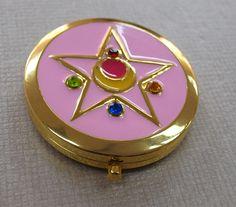 ♥♥Sailor Moon R Crystal Star Compact Brooch Locket♥♥ @Sydney Mills