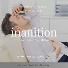 inanition