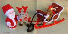 amigurumi Santa   #amigurumi #crochet #christmas