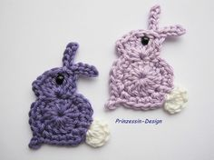 "how adorable is that?! crochet bunnies. to make the ""nose"" part of the head lower than the face you'd have to do maybe tripleCS and then doubleCS....."