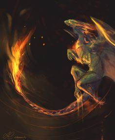 "lumistar: ""forest fire """