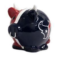 Houston Texans Big Logo Sweater Pig Bank