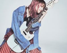 Life with Fender Lisa Japanese Singer, Hip Hop, Women Of Rock, Rocker Chick, Visual Kei, Musical, Music Artists, Rock Bands, My Idol