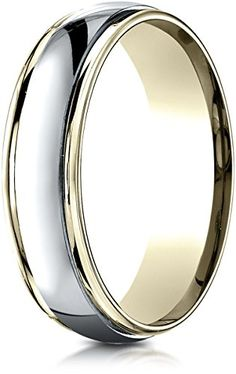 Benchmark Two-Toned Gold Comfort-Fit High Polished Carved Design Wedding Band (Sizes 6 - 13 ) Wedding Jewelry For Bride, Wedding Ring Bands, Photo Jewelry, Rings For Men, Carving, Polish, Engagement Rings, Fit, Bracelet