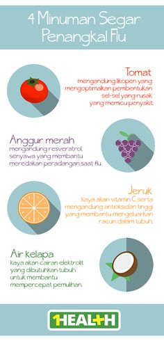 4 Minuman Segar Penangkal Flu // 4 Natural Remedies for Influenza