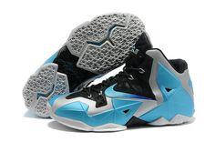 68c47d03e491 Nike Lebron XI 11 Lebron James Chaussures 2013 Armory Slate-Gamma Bleu For  Wholesale