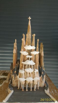 Sagrada Familia Barcelona (España) recreación de la obra de Gaudí