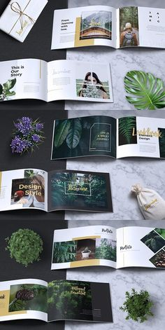 Find tips and tricks, amazing ideas for Portfolio layout. Discover and try out new things about Portfolio layout site Portfolio Design Layouts, Book Design Layout, Template Portfolio, Graphic Design Layouts, Design Posters, Brochure Layout, Brochure Template, Indesign Templates, Brochure Format