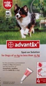 K9 Advantix Dogs 22-55lbs (10-25kg) - 4 Pack Free Shipping on Order Over $20 http://couponssmart.com/store/?si=Pet-Bucket