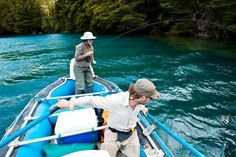 Fly Fishing in Argentina's Patagonia Region.