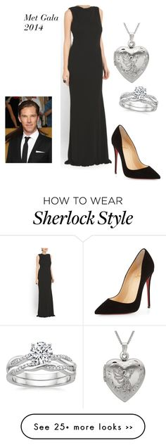 """""""2014 Met Gala"""" by roxanne-renzo on Polyvore featuring moda y Christian Louboutin"""