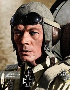 Ernst Kupfer, a German Luftwaffe ace, who flew 636 missions in Junkers Ju 87, Henschel Hs 123 and Focke Wulf Fw-190. He was the recipient of the Knight cross of the Iron cross, born in 1907 he died in a airplane crash (6 november 1943) with his Heinkel He 111, his body was found 11 days later.