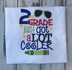 Back to school shirt 1st day of school shirt by BabyBirdsCloset