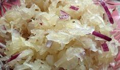 Salát z kysaného zelí   recept na salát plný vitamínů Grains, Rice, Food, Meal, Essen, Laughter, Korn, Brass