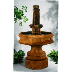 Obelisk Octagon Fountain, 5 PC