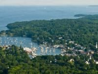 Camden, Maine, one of the most peaceful place I have ever visited, one of best anniversary vacations.