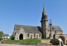 St Pierre church - Guimaëc, Bretagne