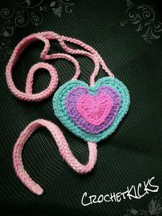 crochet heart-stringed headband Crochet Baby Sandals, Crochet Earrings, Heart, Jewelry, Jewellery Making, Crocheted Baby Sandals, Jewerly, Jewlery, Jewelery