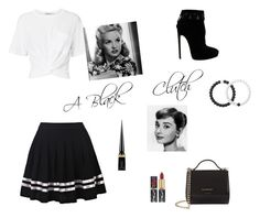 """""""A Black Clutch"""" by keira-is-me on Polyvore featuring T By Alexander Wang, Alaïa, Givenchy, Lokai and Christian Louboutin"""