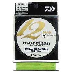 Tresse Daiwa Morethan 12 Braid - Lisse et parfaitement ronde
