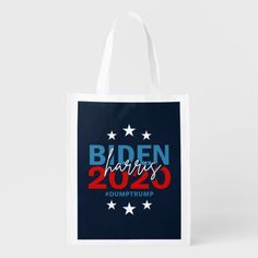 Biden Harris 2020 Election Cool Campaign 1-sided Grocery Bag #Politics Biden Harris, Biden, Biden Humor #joebiden #joebiden2016 #joebidenmemes, back to school, aesthetic wallpaper, y2k fashion Joe Biden 2016, Knitting Daily, Reusable Grocery Bags, Thanksgiving Ideas, Folded Up, Aesthetic Wallpapers, Keep It Cleaner, Holiday Cards, Back To School