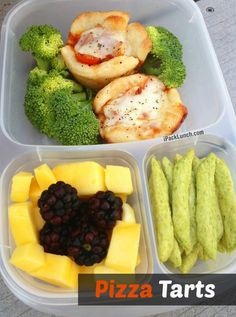 Need a new lunch box idea? Try these Pizza Tarts!