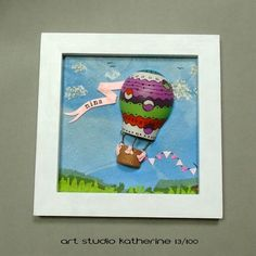 Day 13/100. I finished the hot air balloon picture. It is packed and ready to go to its new owner. I am proud that I managed my urge to…