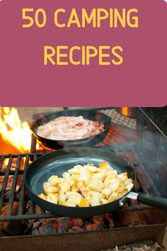 Do you love the great outdoors? Then this is the eBook for you. In it, we've compiled 50 recipes that are perfect for your next camping adventure - from breakfast to dessert! All the best recipes gathered into one place so you don't have to go through dozens of websites for inspiration. Diy Camping, Camping Meals, Tent Camping, Camping Hacks, Outdoor Camping, Camping Supplies, Camping Essentials, Camping Accessories, Make It Work