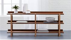 Store more your way. With sleek bookcases, modern cabinets, media consoles and credenzas, offers modern storage solutions for every room in your home. Ikea Furniture, Living Furniture, My New Room, Engineered Wood, Shelving, Family Room, Upholstery, Sweet Home, Interior Design