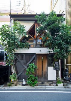 tiny house in Japan. Exterior Design, Interior And Exterior, Tiny House Living, Little Houses, Crazy Houses, My Dream Home, Future House, Architecture Design, Architecture Interiors