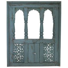Aqua Haveli Window Mirror ($865) ❤ liked on Polyvore featuring home, home decor, mirrors, decor, furniture, mirror, doors, arched mirror, window mirror and aqua home decor