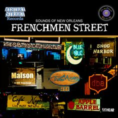 Frenchmen Street for a night - have a drink, go to a club, eat dinner