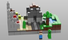 LEGO Minecraft Castle
