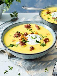 Diese #Suppe mit #Kichererbsen ist so köstlich!