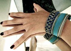 DIY- Zipper Bracelets | dottyspeckles