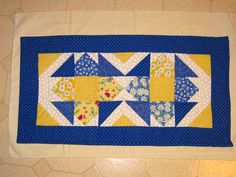 table runner I made, for my friends Mom